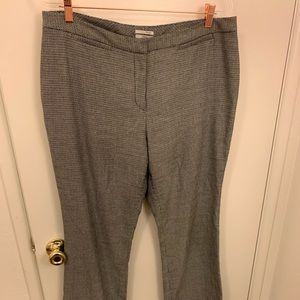 Halogen Taylor trousers in b/w herringbone size 14